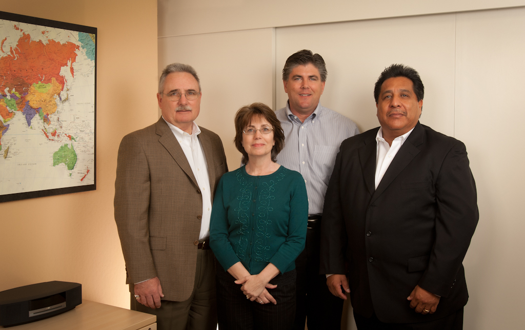 Image of Patrick Murphy, Anna Murphy, Jeff Lloyd & Tony Reyes who are the leadership team of Signature Facilities Services.
